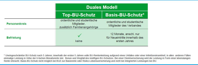 BU-Top-Schutz vs. BU-Basischutz für Ärzte und Apotheker